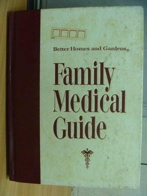 【書寶二手書T3/醫療_ZCG】Better Homes and Gardens Family Medical Guid