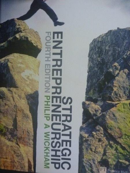 【書寶二手書T6/大學商學_ZCV】Strategic Entrepreneurship_4/e_Philip A. W