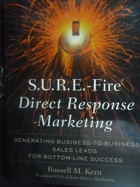【書寶二手書T8/大學商學_ZDA】S.U.R.E.-Fire Direct Response Marketing_Ru