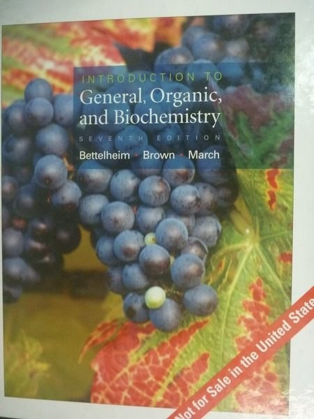 【書寶二手書T9/大學理工醫_ZDH】General, Organic, and Biochemistry_7/e_Be