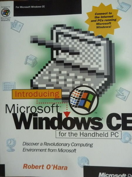 【書寶二手書T9/大學資訊_QXW】Introducing Microsoft Windows CE_OHara_原文