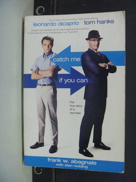 【書寶二手書T9╱一般小說_NSX】Catch me if you can神鬼交鋒_Frank W. Abagnale