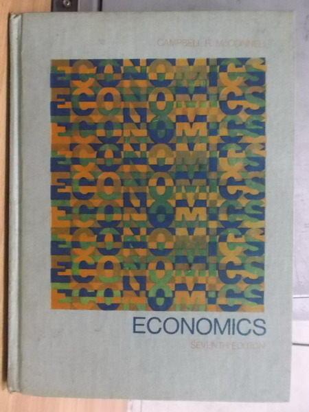 【書寶二手書T3/大學商學_ZKS】ECONOMICS_1980年
