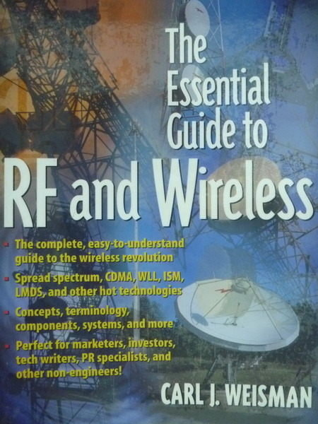 【書寶二手書T8/大學理工醫_PMY】The Essential Guide to RF and Wireless_We
