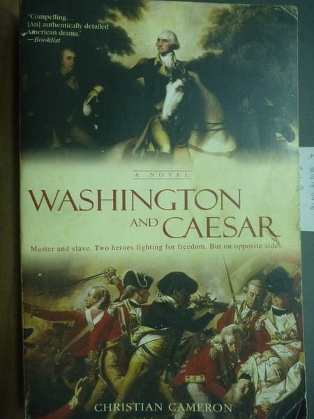 【書寶二手書T8/傳記_PDR】Washington And Caesar_Christian Cameron