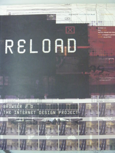 【書寶二手書T7/網路_ZDO】Reload_the Internet design project_原價990