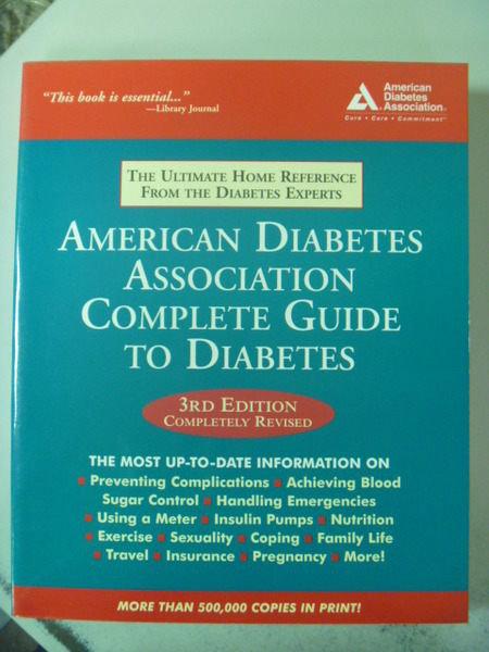 【書寶二手書T2/大學理工醫_ZBV】American Diabetes Association…
