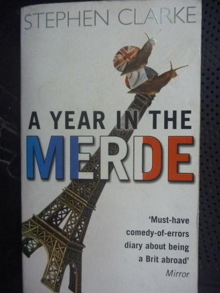 【書寶二手書T6/原文小說_GAT】A Year in the Merde