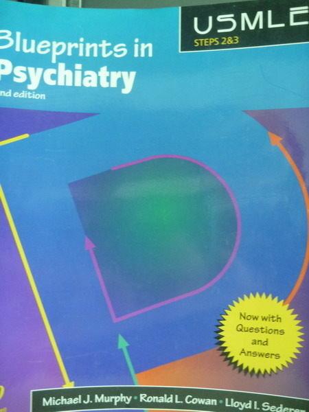 【書寶二手書T2/大學理工醫_PDQ】Blueprints in Psychiatry_Murphy,etc_2/e