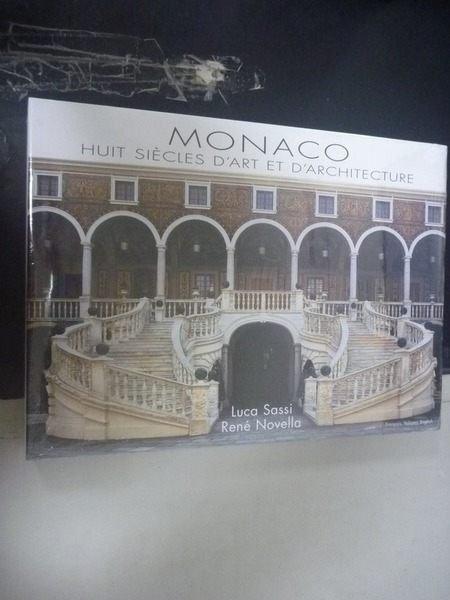 【書寶二手書T2/建築_ZGY】Monaco, Huit si?cles dart et