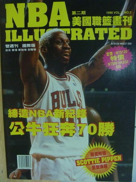 【書寶二手書T1╱雜誌期刊_PPD】NBA美國職籃畫刊_第2期_NBA新紀錄等_Rodman封面