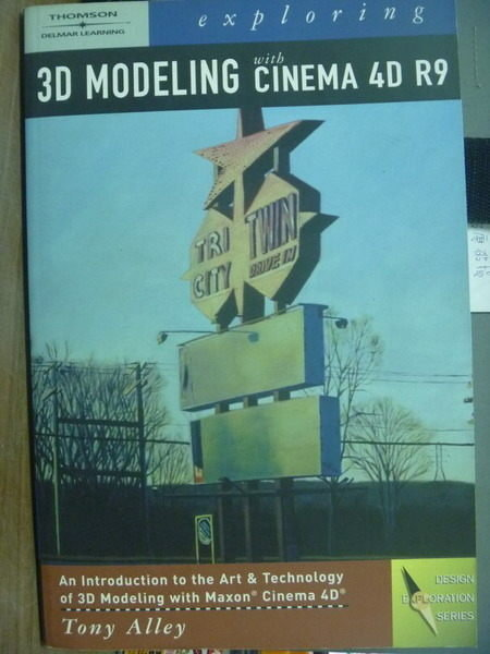 【書寶二手書T6/大學資訊_PFE】Exploring 3D Modeling…_Alley_有光碟