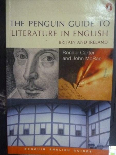 【書寶二手書T4/文學_ZCD】The Penguin Guide to Literature