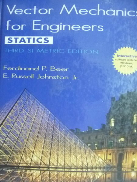 【書寶二手書T6/大學理工醫_QMN】Vector Mechanics for Engineers_Beer,etc