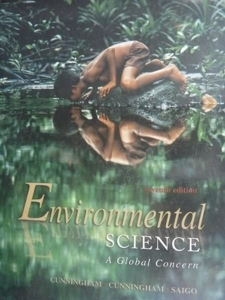 【書寶二手書T2/大學理工醫_ZAX】Environmental Science