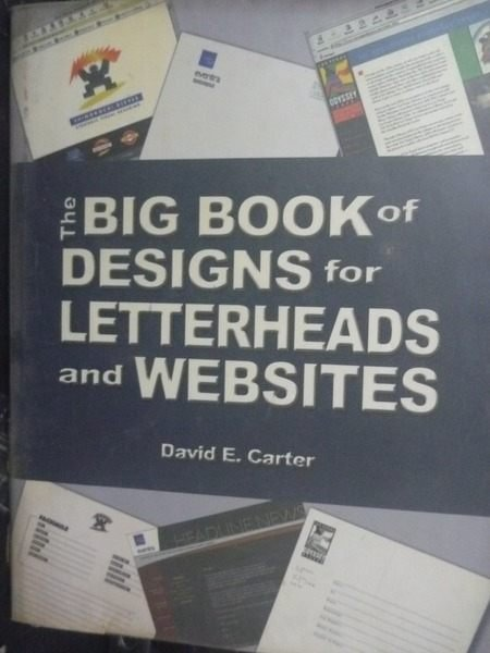 【書寶二手書T8/廣告_ZEZ】Big book of designs for