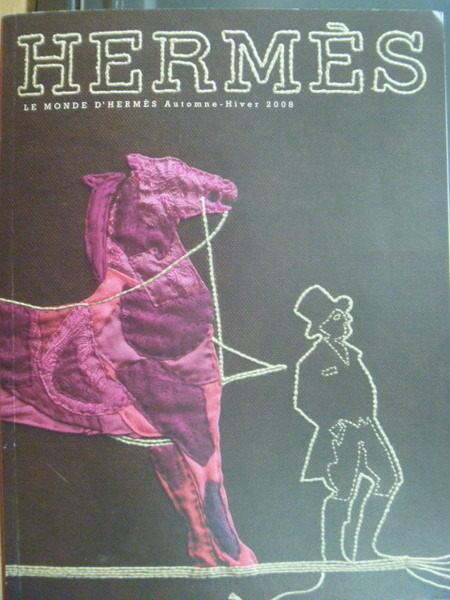 【書寶二手書T2/收藏_ZHI】Hermes_艾瑪仕世界2008年第2期