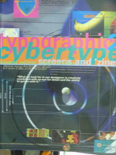 【書寶二手書T9/廣告_QMY】typographics Cybertype 2_Roger Walton