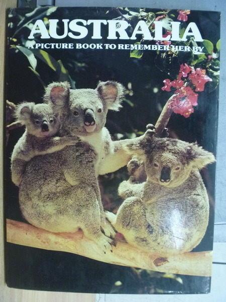 【書寶二手書T3/攝影_WGL】AUSTRALIA_1978年