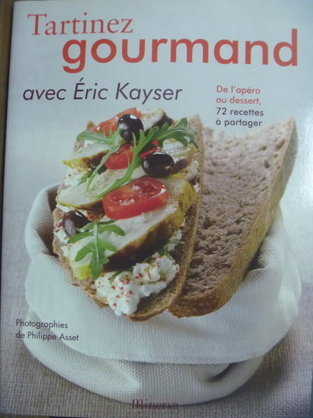 【書寶二手書T4/餐飲_QCY】Tartinez Gourmand_Eric Kayser