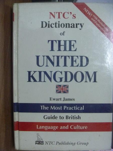 【書寶二手書T7/字典_PAJ】NTCs Dictionary of THE UNITED KINGDOM