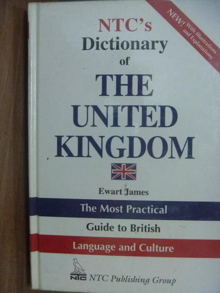 【書寶二手書T2/字典_PAL】NTCs Dictionary of THE UNITED KINGDOM