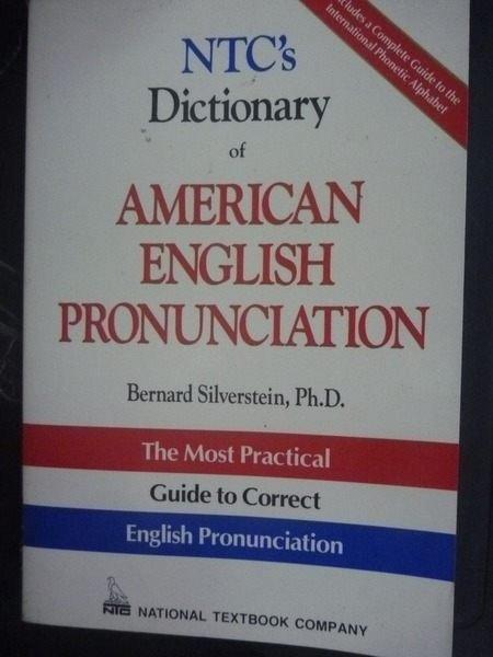 【書寶二手書T8/字典_QJR】NTCs dictionary of American