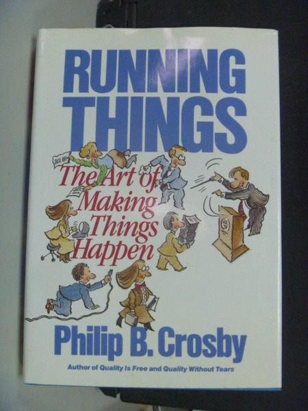 【書寶二手書T6/財經企管_JCR】Running Things_Philip Crosby