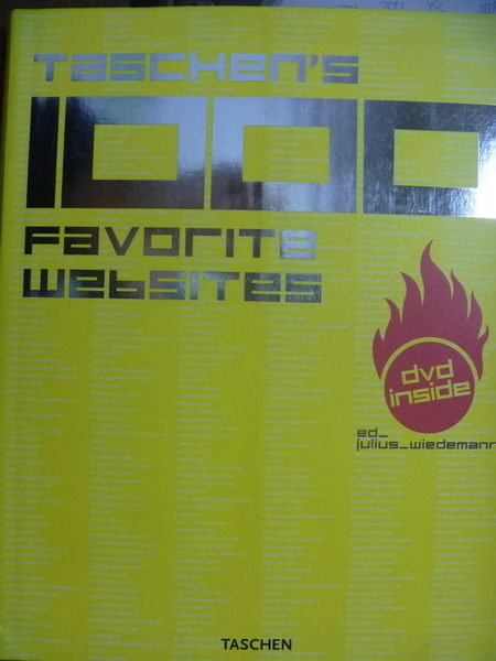 【書寶二手書T7/網路_QEI】Taschens 1000 Favorite Websites_有DVD
