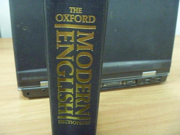 【書寶二手書T7/語言學習_YDX】Oxford Modern English Dictionary_1992年