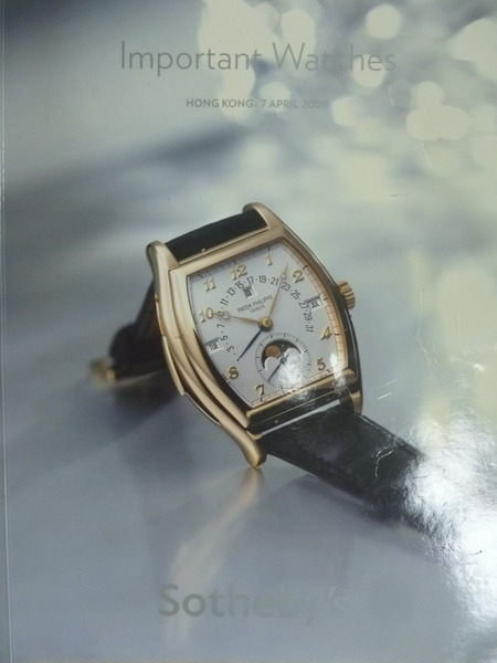 【書寶二手書T7/收藏_WDD】Sothebys_2009/4/7_Important Watches
