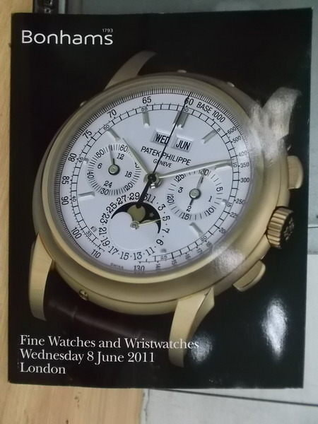 【書寶二手書T7/收藏_YAW】Bonhams_2011/6/8_Fine Watches and…