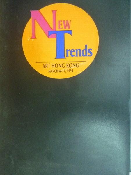 【書寶二手書T6/建築_PPW】New Trends_1994年_景觀雕塑_楊英風美術館館刊