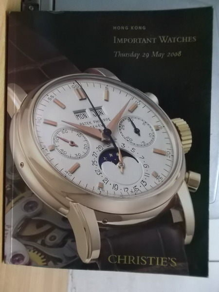 【書寶二手書T7/收藏_YKB】Christies_2008/5/29_Important Watches