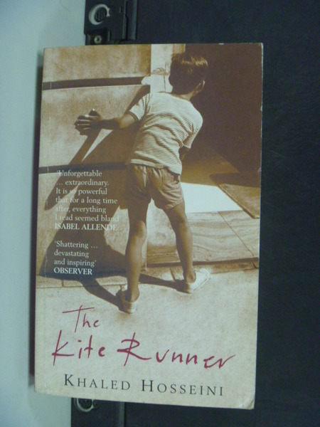 【書寶二手書T7╱原文小說_KDW】Kite Runner 追風箏的孩子_Hosseini