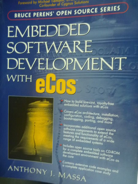 【書寶二手書T9/電腦_ZCV】Embedded Software Development