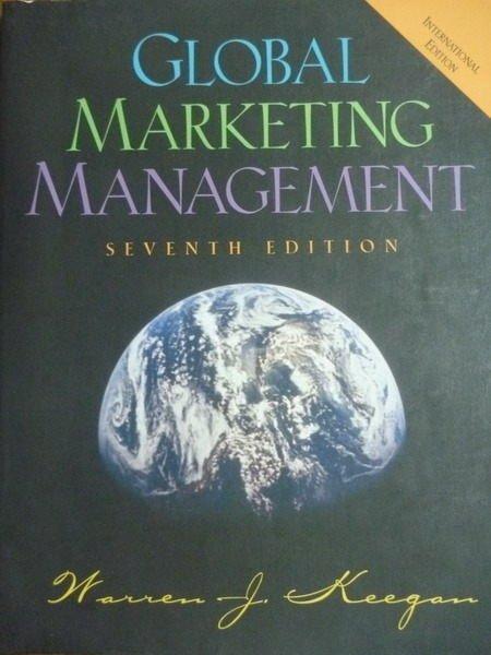 【書寶二手書T5/大學商學_PHU】Global Marketing Management_Keegan_7/e