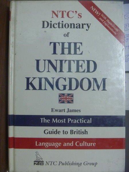 【書寶二手書T2/字典_QXW】NTCs Dictionary of THE…KINGDOM