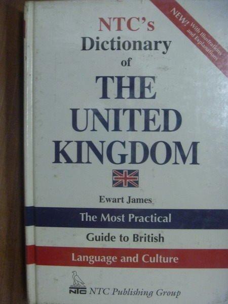 【書寶二手書T8/字典_QXV】NTCs Dictionary of THE…KINGDOM