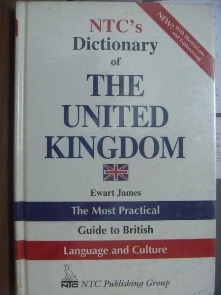 【書寶二手書T3/字典_QXU】NTCs Dictionary of THE…KINGDOM