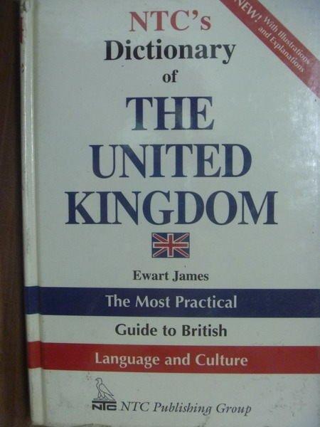 【書寶二手書T9/字典_QXT】NTCs Dictionary of THE…KINGDOM