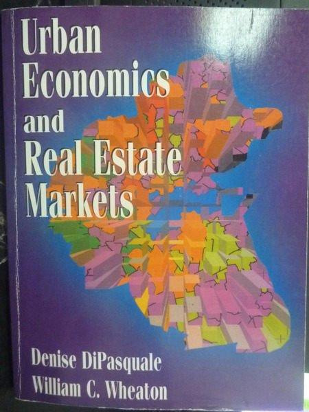 【書寶二手書T4/大學社科_ZBH】Urban Economics