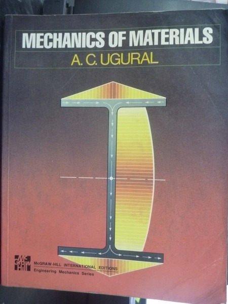 【書寶二手書T9/大學理工醫_ZBS】Mechanics of Materials