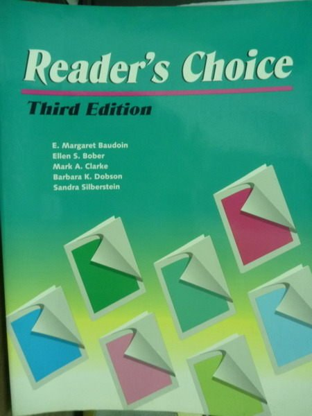 【書寶二手書T4/原文書_PNK】Readers Choice_E. Margaret Baudoin_3/e