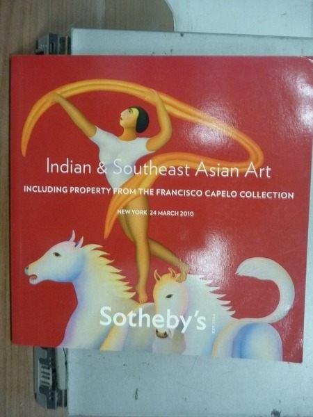 【書寶二手書T6/收藏_KSV】Sothebys_2010.March_Indian…