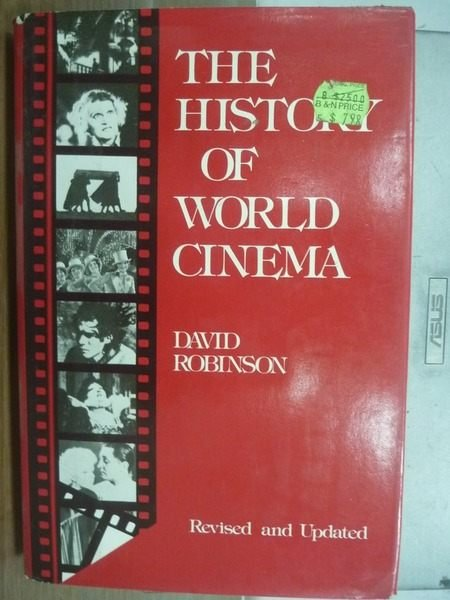 【書寶二手書T3/影視_HNY】The history of world cinema _Robinson