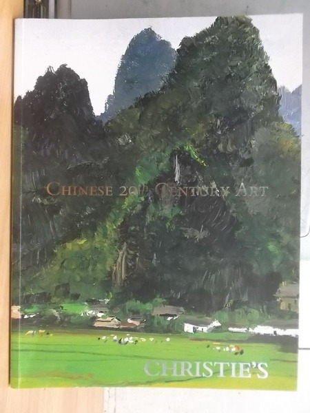 【書寶二手書T3/收藏_XGS】Christies_2008_chinese 20th century art