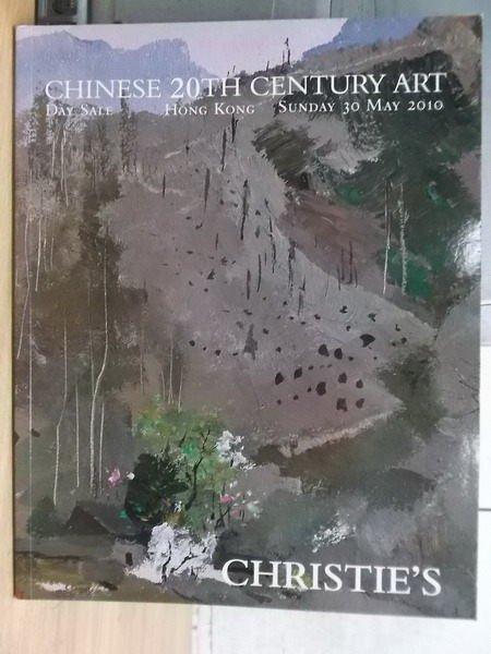 【書寶二手書T5/收藏_XGS】Christies_2010_chinese 20th century art