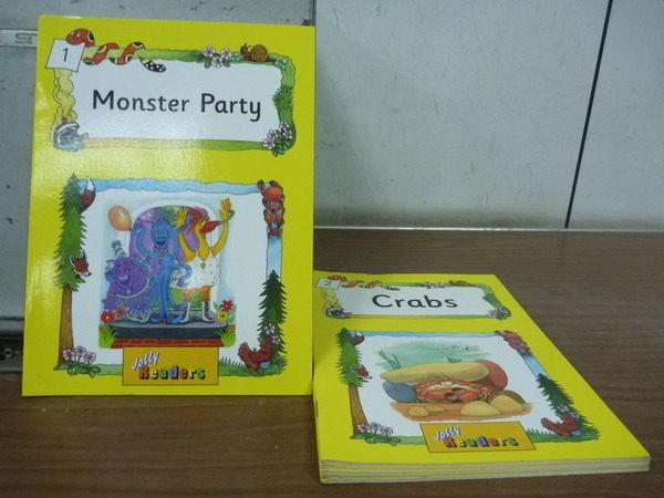 【書寶二手書T4/少年童書_JJP】Jolly Readers_1~6 合售_Crabs_ThE Box等