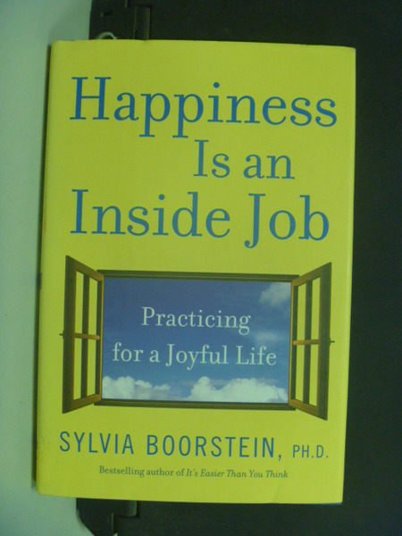 【書寶二手書T8/原文小說_NQD】Happiness Is an Inside Job_Sylvia